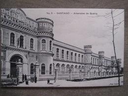 Tarjeta Postal - Chile Chili - Santiago - Arsenales De Guerra - Gallardo Hnos Ahumada 393 No. 5 - Foto Leon - Chile