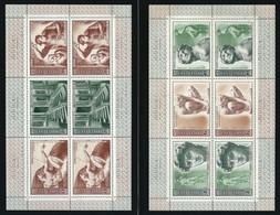 RUSSIA 1975 - 2 Minifogli - Michelangelo - N. 4119 /24 ** - Serie Compl. - Cat. 20 € - Lotto 4271 - 1923-1991 USSR