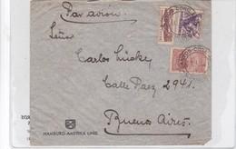 SOBRE ENVELOPE VIA AEREA CIRCULE BRASIL TO ARGENTINE CIRCA 1934 AUTRES MARQUES- BLEUP - Brazil