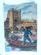 CP (79) Deux Sèvres - PARTHENAY - La Tour Saint-Jacques - Illustrateur Homualk - Parthenay