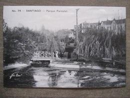 Tarjeta Postal - Chile Chili - Santiago - Parque Forestal - Hnos Ahumada 393 No. 74 - Foto Leon - Chili