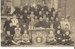 F8/ SCHOTEN DEUZELD  KLAS 1923 OF33??    POSTKAARTFOTO - Anonymous Persons