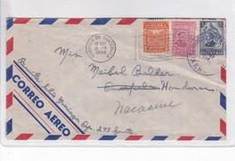 SOBRE ENVELOPE AIRMAIL AUTRES MARQUES CIRCULEE GUATEMALA TO HONDURAS CIRCA 1946- BLEUP - Guatemala