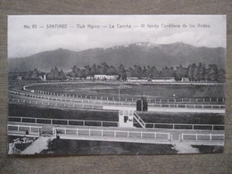 Tarjeta Postal - Chile Chili - Santiago - Club Hipico La Cancha - Hnos Ahumada 393 No. 89 - Foto Leon - Chili