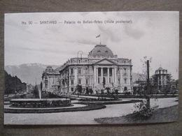 Tarjeta Postal - Chile Chili - Santiago - Palacio De Bellas Artes Vista Posterior - Hnos Ahumada 393 No. 90 - Foto Leon - Chili