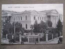 Tarjeta Postal - Chile Chili - Santiago - Congreso Nacional - Hnos Ahumada 393 No. 96 - Foto Leon - Chili