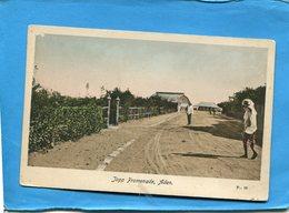 YEMEN-ADEN-jopp Promenade  -animée -années 1910-20- - Yémen