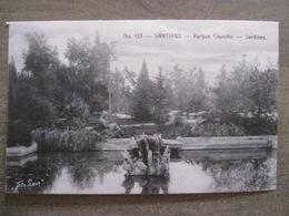 Tarjeta Postal - Chile Chili - Santiago - Parque Cousino Jardines - Hnos Ahumada 393 No. 103 - Foto Leon - Chili