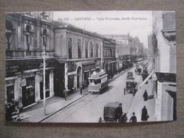 Tarjeta Postal - Chile Chili - Santiago - Calle Ahumada Desde Huerfanos - Hnos Ahumada 393 No. 109 - Foto Leon - Chili