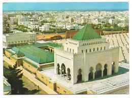 RABAT - LE MAUSOLÉE MOHAMMED V - Vue Panoramique En Détail Du Monument - 1974 - Rabat