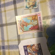 GUINEA ARTE PASQUA - Stamps