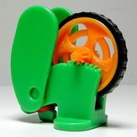 K348 / Kinder Série Roues / Roue Orange / Ref: FT072A - Montables