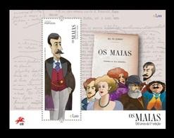 Portugal 2018 Mih. 4432 (Bl.437) Literature. Novel Os Maias By Jose Maria De Eca De Queiroz MNH ** - 1910-... Republic