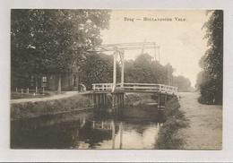 Oude Pk.  Brug. - Hollandsche Veld.   Postzegel 1927 Meppel - Hoogeveen