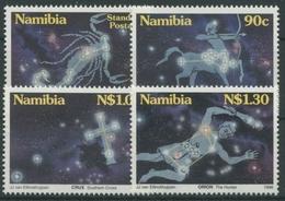Namibia 1996 Sternbilder Skorpion Schütze Orion 819/22 Postfrisch - Namibia (1990- ...)