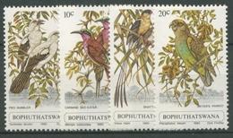 Bophuthatswana 1980 Vögel Bienenfresser Papagei 60/63 Postfrisch - Bophuthatswana