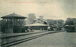 Estacion De Mazatenango , Guatelama C. A. - Railway Station Gare Ligne Chemin De Fer - AA53 - Guatemala
