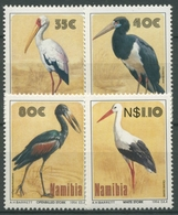 Namibia 1994 Vögel Der Etoschapfanne Nimmersatt Storch 776/79 Postfrisch - Namibia (1990- ...)