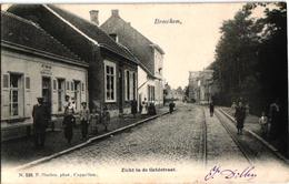 1 Oude  Postkaart   Broechem   Zicht In De Geldstraat    Bakker   1905    Uitg. Hoelen  N°529 - Ranst