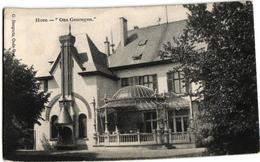 1 Oude  Postkaart Hove  Villa Ons Genoegen  Uitg  .Bongartz - Hove