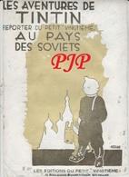 HERGE - TINTIN - Au Pays Des Soviets - EPREUVE De Photogravure  Retouché De 1930 -  Couverture - Hergé
