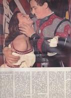 (pagine-pages)ANNAMARIA FERRERO E VITTORIO GASSMAN  L'europeo1956/555 - Books, Magazines, Comics