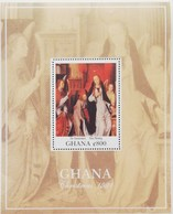 Ghana 1991 Christmas S/S - Ghana (1957-...)