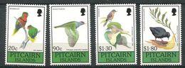 229 PITCAIRN 1990 - Yvert 356/59 - Oiseau - Neuf **(MNH) Sans Trace De Charniere - Timbres