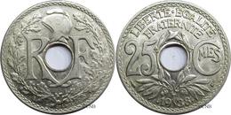 France - IIIe République - 25 Centimes Lindauer Maillechort .1938. - SUP - Fra3037 - France