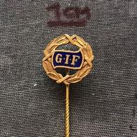 Badge Pin ZN007043 - Football (Soccer / Calcio) Sweden GIF Sundsvall - Football