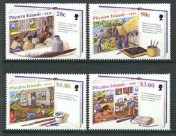 229 PITCAIRN 1999 - Yvert 508/11 - Ecole - Neuf **(MNH) Sans Trace De Charniere - Timbres