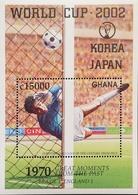 Ghana 2002 World Cup Soccer Championship Japan And Korea S/S - Ghana (1957-...)