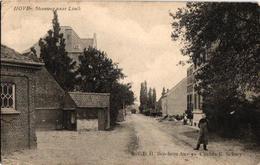 1 Oude  Postkaart   Hove Steenweg Naar Lint Linth   1907  Uitg. RVDH Berchem - Hove