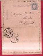 BR-8666      WAESMUNSTER  NAAR  HOLLAND - Entiers Postaux