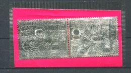 MAURITANIE 1974 - Yvert 144/45 Argent - Jules Verne Satellite Skylab - Neuf **(MNH) Sans Trace De Charniere - Mauritania (1960-...)