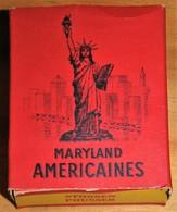 Très Rare Paquet De Cigarettes Ancien Maryland Zurich Statuie De La Liberté - Around Cigarettes