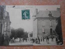 23 CREUSE/ DUN LE PALLETEAU ( DUN LE PALESTEL) Hotel Des Postes Et Avenue De La Souterraine - Dun Le Palestel