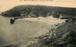 Belle Ile En Mer - L'Entrée Du Port Blanc - Abri Canot De Sauvetage - Jetée - éditeur Vassellier N°2761 - AA53 - Belle Ile En Mer