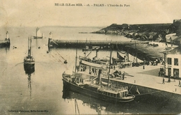 Belle Ile En Mer - Palais - L'Entrée Du Port - Bateaux Jetées Phares - éditeur Petitjean N°18 - AA53 - Belle Ile En Mer