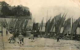 Belle Ile En Mer - Port De Palais - Arrivée Des Bateaux Sardiniers - éditeur Petitjean N°44 - AA53 - Belle Ile En Mer