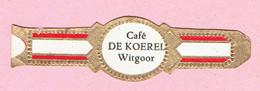 Sigarenband - Café DE KOEREL - Witgoor Dessel - Sigarenbandjes