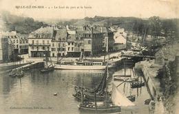 Belle Ile En Mer - Le Fond Du Port Et Le Bassin - Bateaux - éditeur Petitjean N°4 - AA53 - Belle Ile En Mer