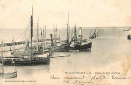 Belle Ile En Mer - Entrée Du Port De Palais - Bateaux - Jetée - Phare - éditeur Petitjean N°50 - AA53 - Belle Ile En Mer