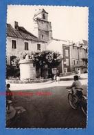 Photo Ancienne Snapshot - SOUILLAC - Le Beffroi - Juin 1963 - Lot - Enfant Sur Vélo - Places
