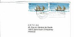 1988 - Vignette De Distributeur - Voilier D'Epoque 35pts (n° 18) - 2001-10 Storia Postale