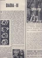 (pagine-pages)IL DADAISMO/2  Rotosei1960/49. - Books, Magazines, Comics
