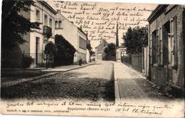 2 Oude  Postkaarten   Hove   Kapelstraat  Uitg.  Hermans N°149   Kapel H.S.  Hermans N°141 - Hove