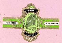 Sigarenband - ODOR DON BOSCO - Café Bergenhof Dessel - Jansen Slegers - Sigarenbandjes
