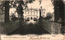 2 Oude  Postkaarten   Hove   Kasteel Hoveberg  1906  Hermans N°151   Kasteel Rattennest  Hermans  N°153 - Hove