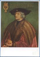ALBRECHT DÜRER, Kaiser Maximilian I. (1459-1519) / The Emperor Maximilian I / L'Empereur Maximilian I - Peintures & Tableaux